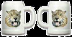 Foto půllitr bílý potisk z obou stran