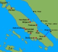 Letní dovolená Ostrov Pašman