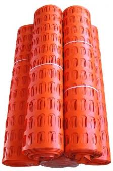 Plastové protisněhové a ochranné pletivo