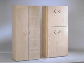 Nábytkové řady Techo - dřevěné skříně