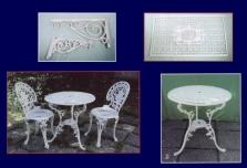 Výroba hliníkového zahradního nábytku