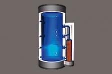 Vrstvící zásobník Pro-Heat se sférickým výměníkem pro vytápění