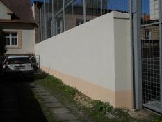 Zdění-plot