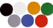 Magnety kulaté 32mm barevné