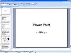 Základní kurz pro začátečníky - MS PowerPoint