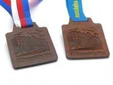 Kožené medaile