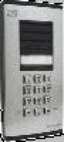 Dveřní komunikátor Ateus+1tl a klávesnice