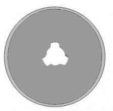 Kruhové- rotační čepele