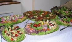 Oslavy, svatby, rauty, catering