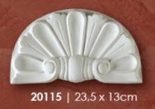 Dekoracia sopr. 140.001 (Mušla) 23,5x13cm