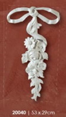 Dekoracia - mašla 53x29 cm