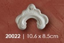 Dekoracia - roh 10,6x8,5cm