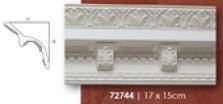 Rohová lišta 17 x 15 cm s konzolkami