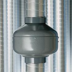 Potrubní ventilátory a ventilátory s napojením na potrubí