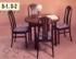 Kruhové stoly 421 S01