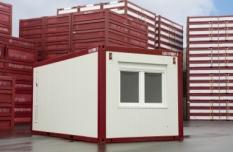 Obytný kontejner s kuchyní a zádveřím (Typ C)