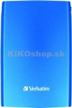 """Verbatim 2,5"""" 320 Gb, farebné prenosné pevné disky (Hdd) s Usb rozhraním"""