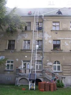Prenajímanie - pokrývačský rebrík GEDA LIFT 200 Standart