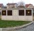 Sestava přípojkových skříní pro plyn a elektro pro dva domy (dvojdomek)