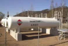 Speciální ropný plyn Isobutan