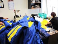 Opravy oděvů, poradenství v oblasti křejčovství