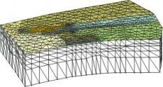 Priestorový model prúdenia podzemnej vody