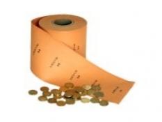 Rolovací papier do strojov na mince