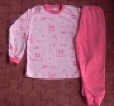 Pyžamo dívčí - froté