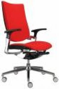 Kancelárska stolička Integra šéf čalúnená