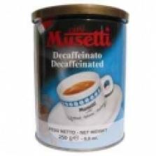Káva mletá bezkofeinová
