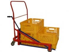 Manipulačné vozíky na prepravky-Lenco