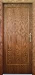 Vnitřní dýhované dveře Milano