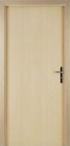 CPL vnitřní dveře Nora