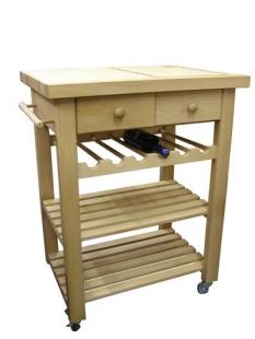Servírovací stolek se 2 zásuvkami