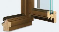 Drevené okná Softline IV - 68