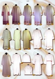 Liturgické odevy - alby