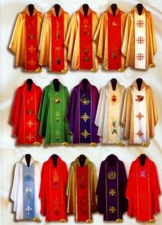 Liturgické odevy - ornáty