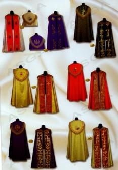 Liturgické odevy - pluviály