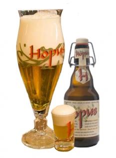 Belgické pivo Hopus
