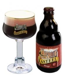 Belgické pivo Kasteel rouge