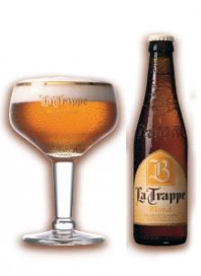 Belgické pivo La Trape blond