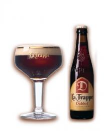 Belgické pivo La Trape dubbel