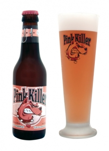Belgické pivo Pink killer