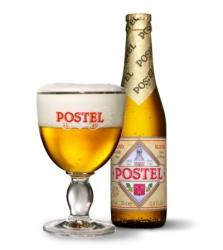 Belgické pivo Postel blond