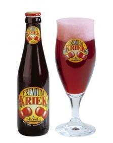 Belgické pivo Premium kriek