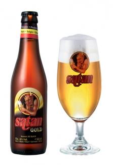 Belgické pivo Satan gold