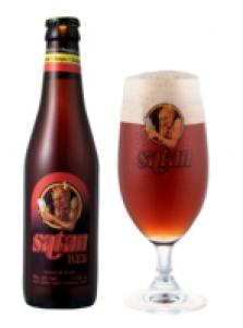 Belgické pivo Satan red