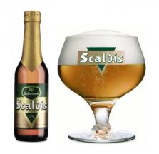 Belgické pivo Scaldis amber