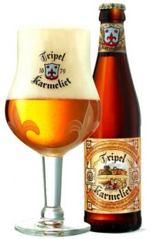 Belgické pivo Tripel Karmeliet