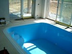 Příslušenství k bazénům - osazení bazénu